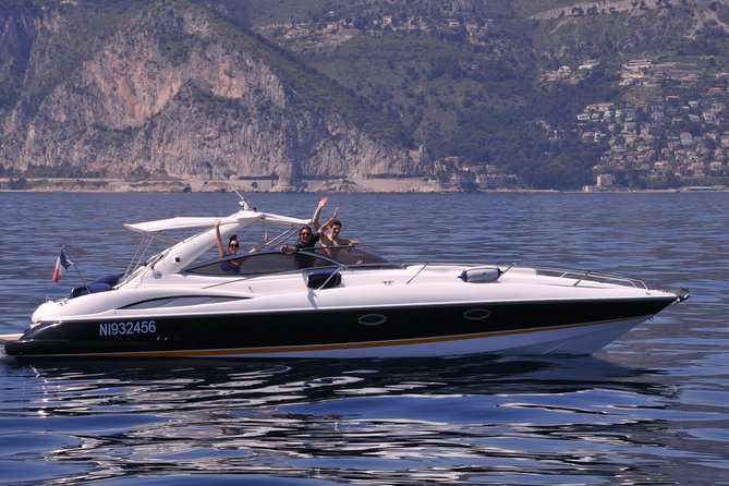Cannes Boat Excursion: Private Luxury Motorboat Cruise with Personal Skipper