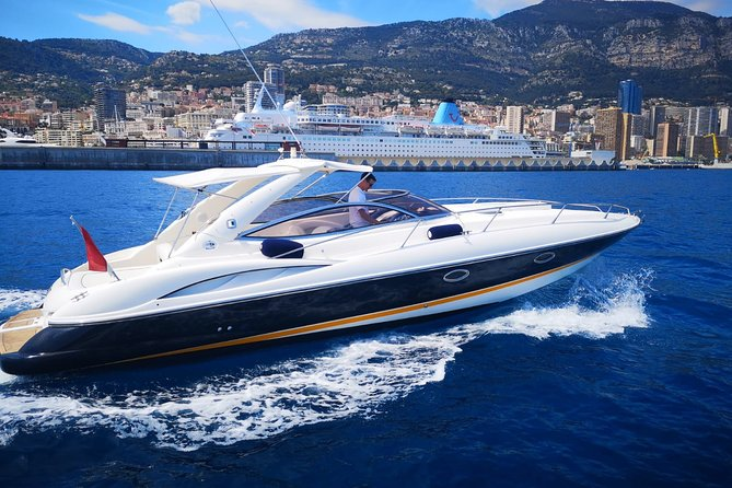 Private Motorboat Cruise from Monaco with Personal Skipper