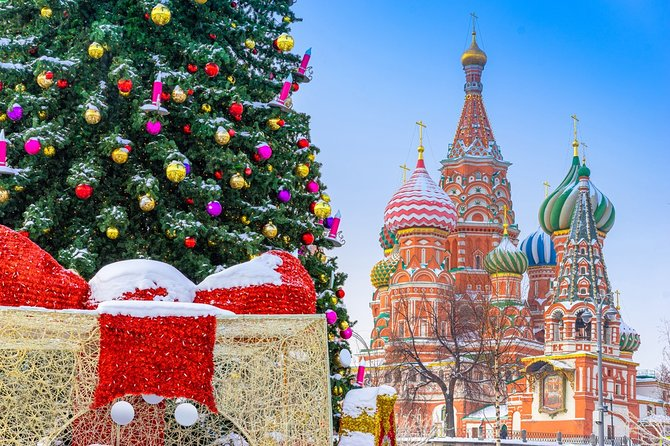 8-Day New Year's Tour to Moscow from St. Petersburg