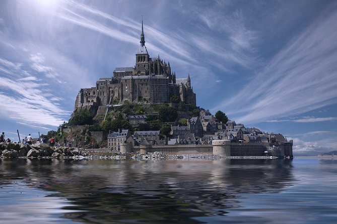 Visit Mont Saint Michel in 1-Day Tour From Paris in PRIVATE CAR