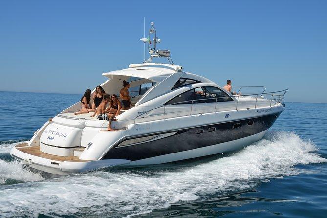 Algarve Luxury Yacht To Benagil Caves Sunset Cruise