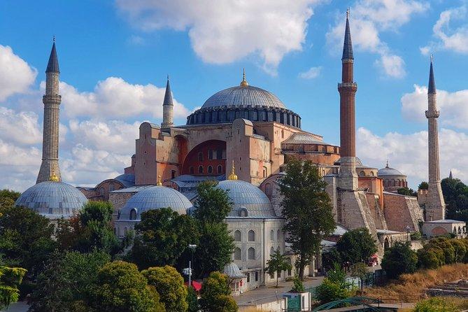 Virtual Tour of Blue Mosque & Hagia Sophia