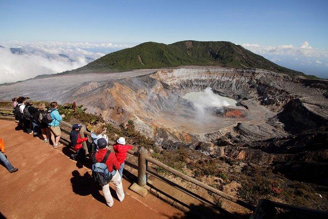 Poas Volcano, Doka Coffee Tour & La Paz Waterfalls