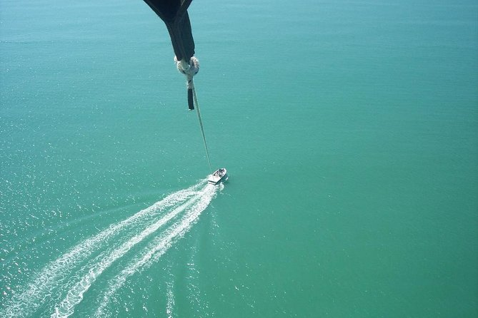 Earlybird/Morning Parasailing above the Gulf of Mexico