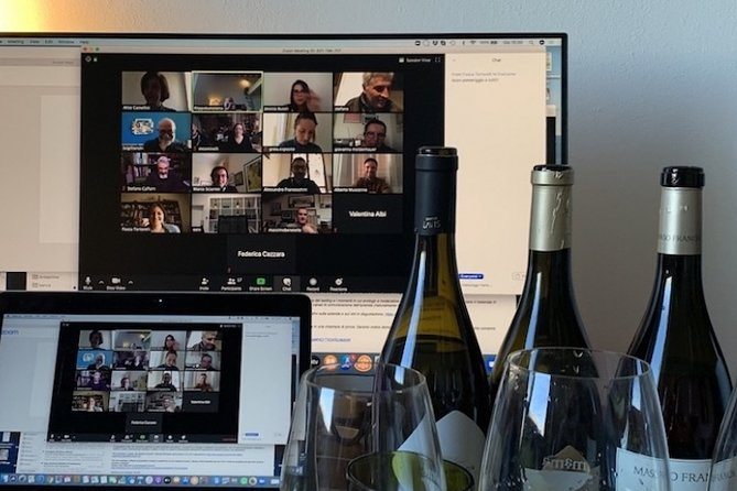 Wine tasting online - Tuscan wines with a great sommelier