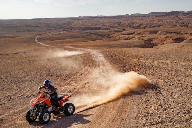 Agafay Desert: Quad Bike & Camel Ride