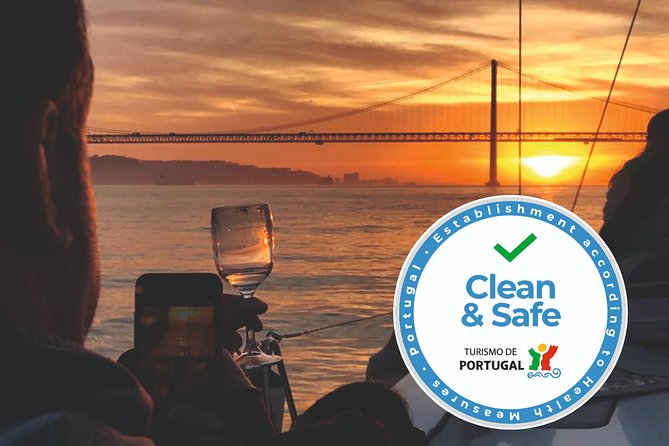 Lisbon Sunset Cruise with Welcome Drink