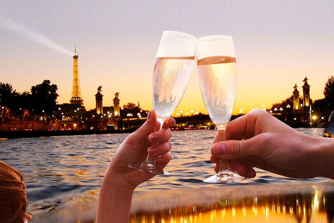 Paris Seine River Champagne Evening Cruise