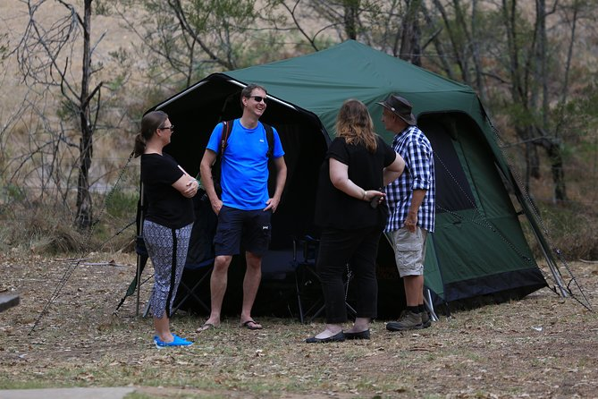 Private Overnight Camping Adventure in Mogo Wildlife Park