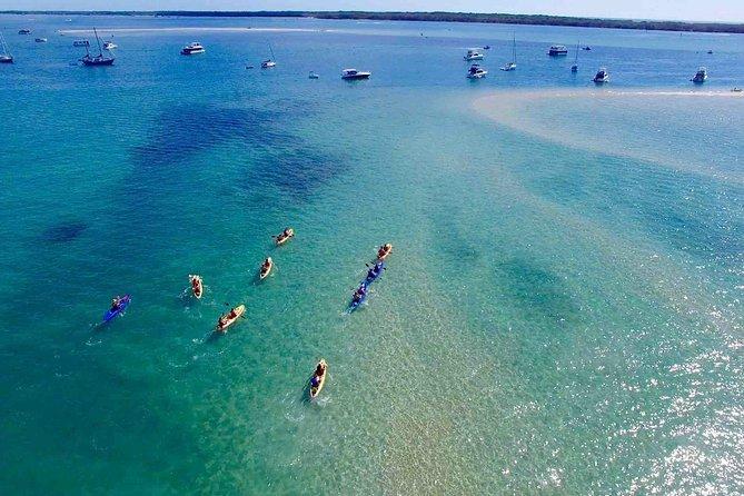 Half day South Stradbroke & Wave Break Island kayak, snorkel & SUP with lunch