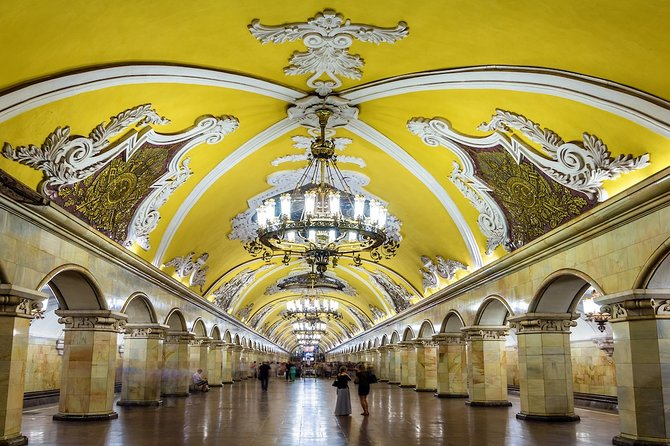 Moscow: Metro tour & The State Tretyakov Art Gallery