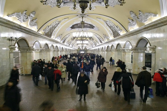 Moscow: Metro & The Space Museum guided tour