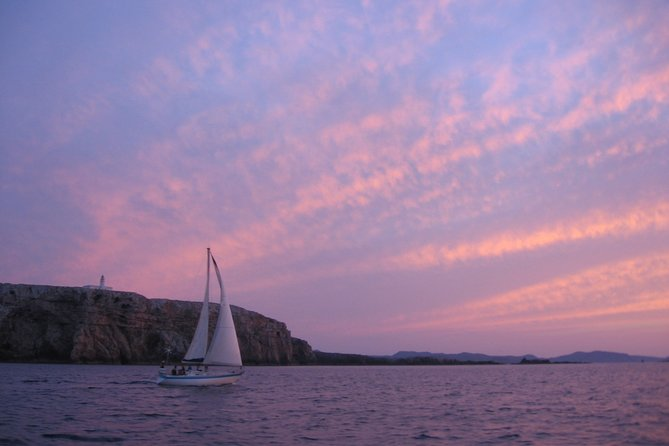 Sail Boat Sunset Trip in Menorca