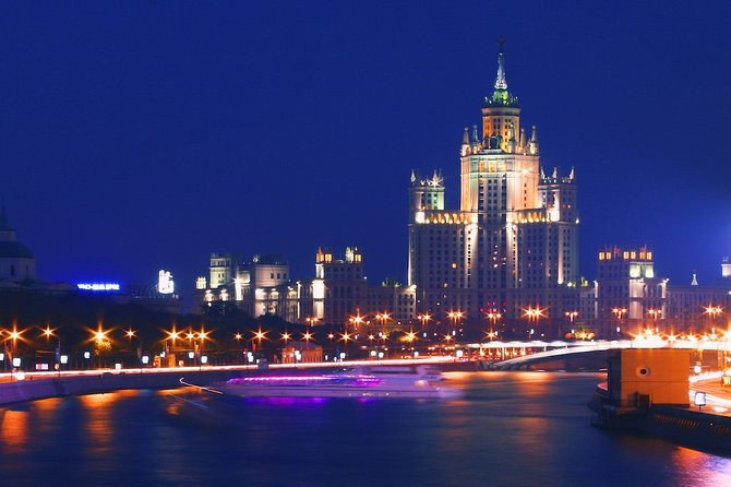 Moscow by night & Metro night guided tour