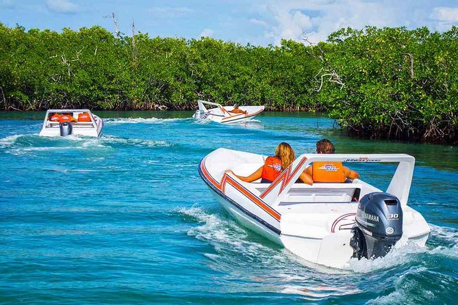 Speed boat aventure and snorkel