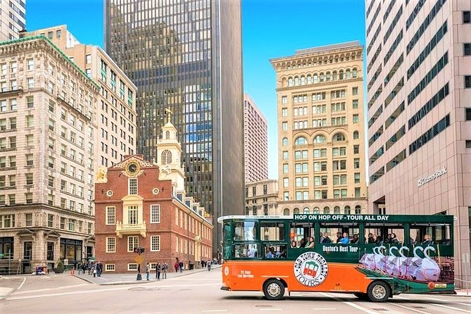 Boston Hop-on Hop-off Trolleybustour