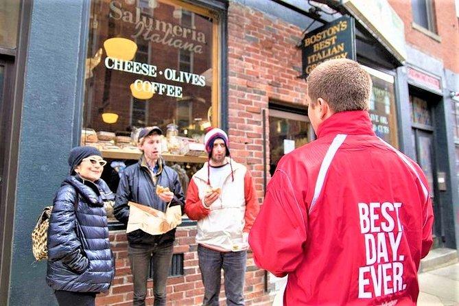 Visite gastronomique à pied en petit groupe du nord de Boston