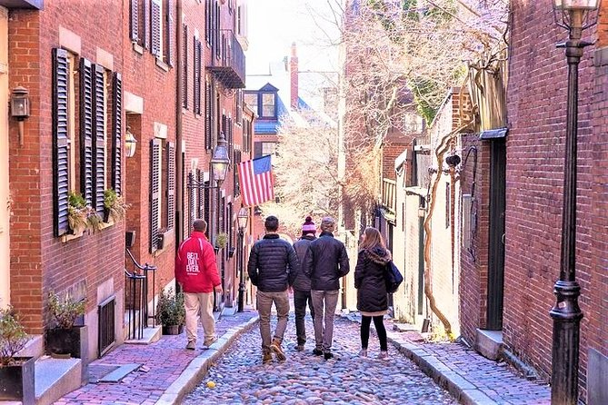 Visite à pied du sentier de la liberté du North End en petit groupe à Boston