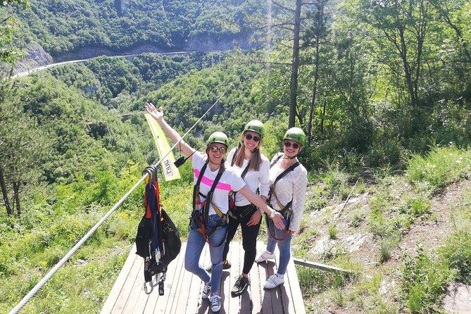 Zipline Adventure over the Gorge in Uzice