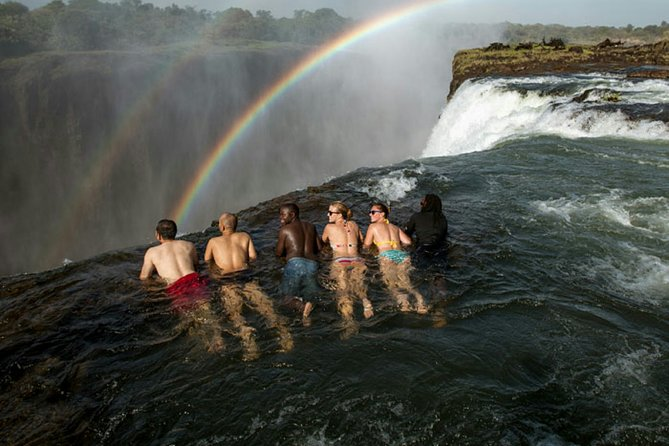 Private Swimming Experience at Devil's Pool in Victoria Falls