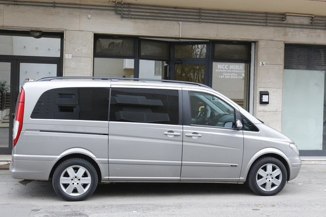 Private transfer, chauffeur service, from Mestre to Venice Marco Polo airport