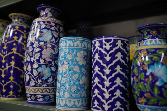 Jaipur Private Blue Pottery with Artist Gopal Saini