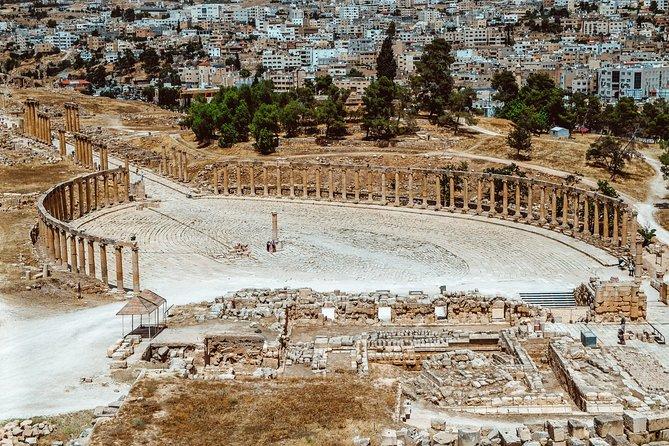 4-Night Private Jordan Cultural Tour: Jerash, Petra, and Wadi Rum Overnight