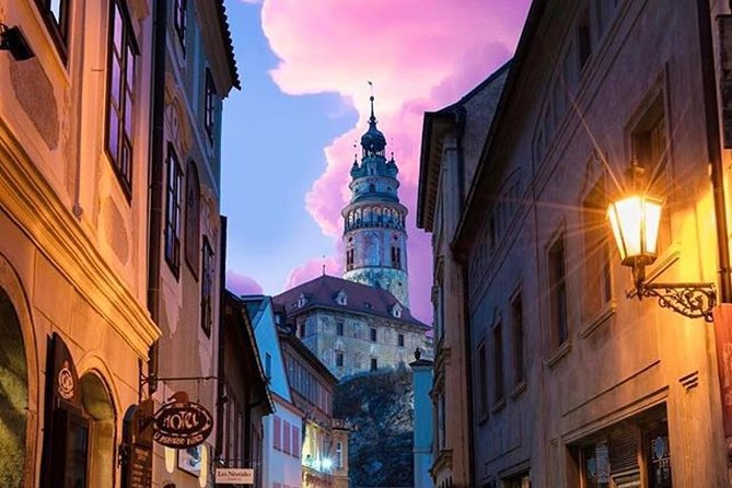 Cesky Krumlov Castle (full-day private tour from Vienna)