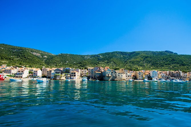 Private cave tour including islands Vis, Budihovac lagoon and Hvar