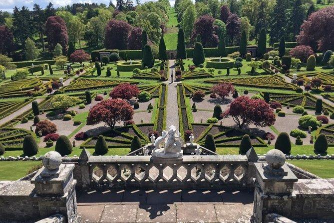 Drummond Castle Garden.