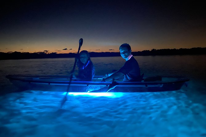 Shell Key Clear Kayak Glow in the Dark Tour