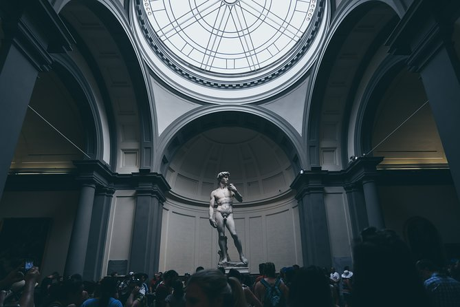 Accademia and Walking Tour - Private Tour
