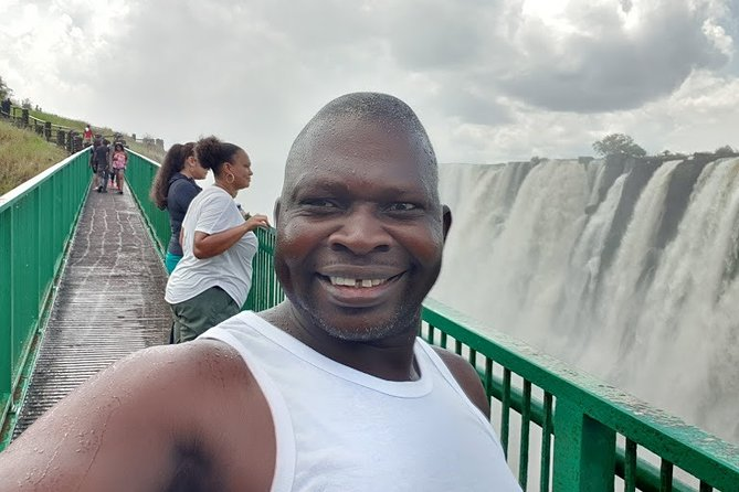 Guided Tour of the Victoria Falls On The Zambia Side