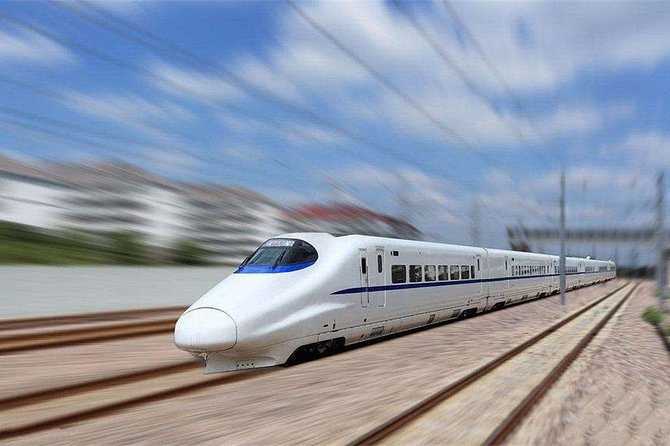 Nanjing to Wuxi Bullet Train Ticket with Train Station Transfer