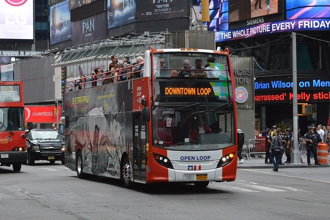 2-Day Hop-on Hop-off Access in New York
