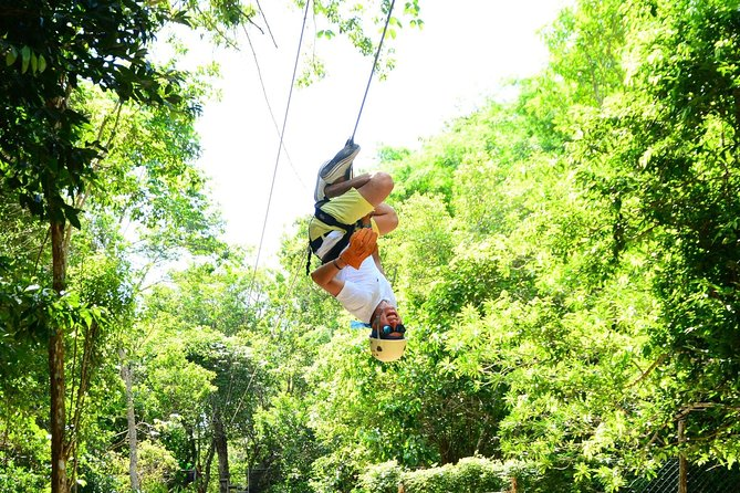 3 adrenaline activities Atvs Zipline and a swim experience in a cenote photo 11