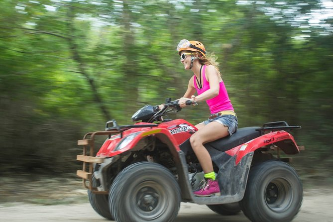 Atv , Ziplines and cenote swim jungle adventure