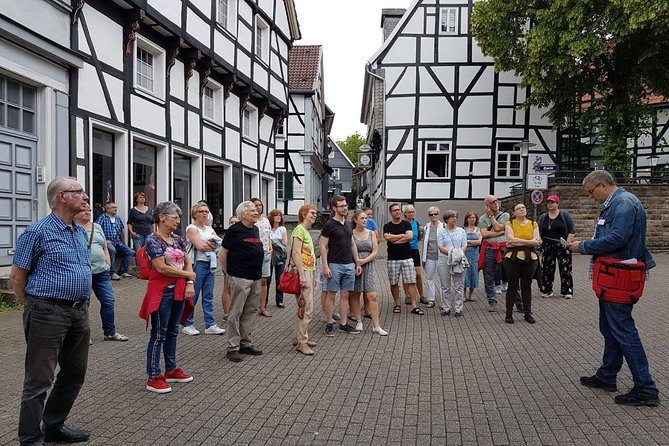 Private city tour through the old town of Hattingen