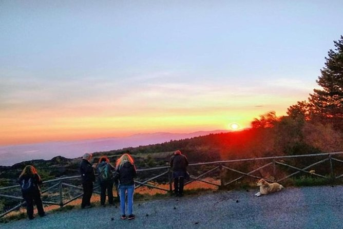 Private Trekking at sunset on Mount Etna