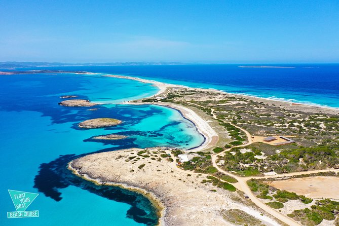 Formentera Beach Cruise with Paella and Es Vedra