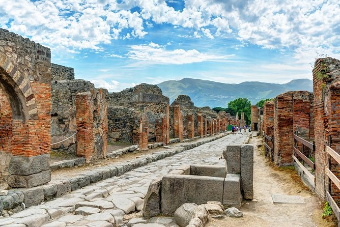 The last day of Pompeii private tour