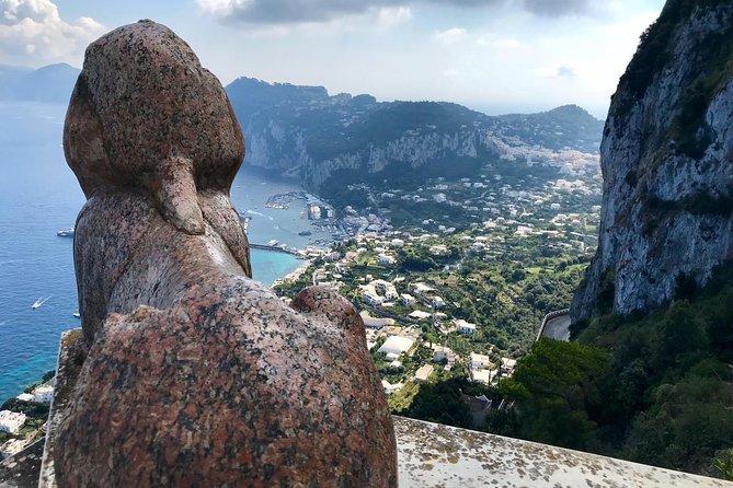 Capri, the blue island