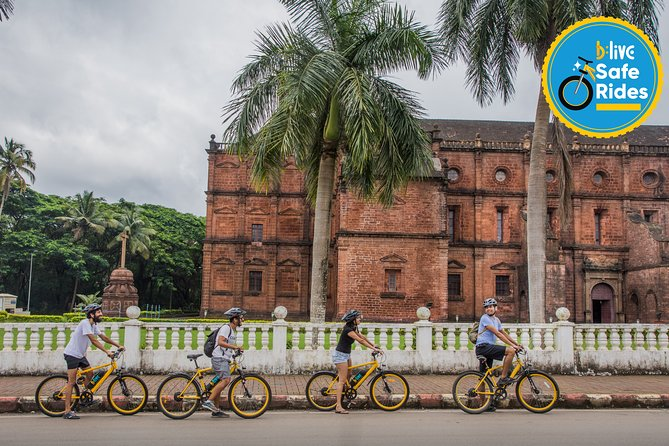 BLive Electric Bike Tours - Lost City of Old Goa