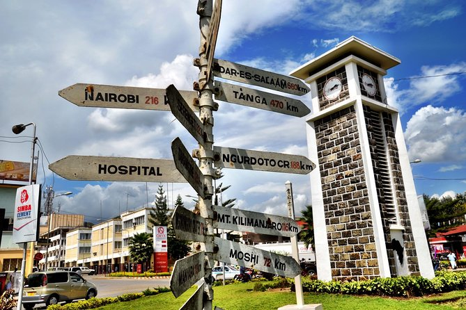 Arusha town day trip