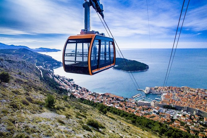 Explore Dubrovnik by cable car and foot fully-private tour