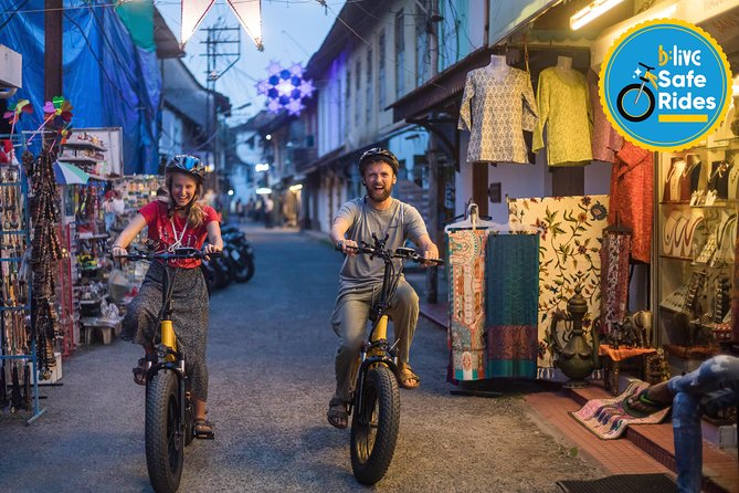 BLive Electric Bike Tours - Fascinating Fort Cochin