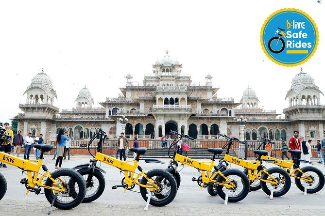 BLive Electric Bike Tours - Regal Ride of Jaipur