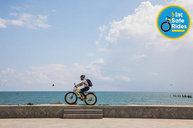 BLive Electric Bike Tours - Picturesque Pondicherry