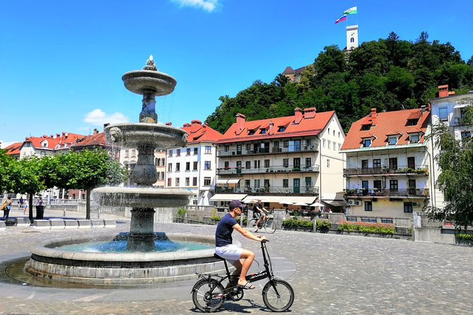 Ljubljana Sightseeing Tour by Electric Bikes