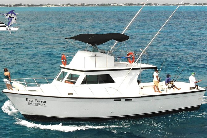 Cancun fishing charter if you don't fish you don't pay 46ft yacht 12pax 25P14
